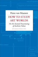 How to Study Art Worlds