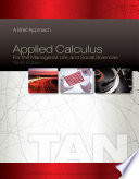 Applied Calculus for the Managerial  Life  and Social Sciences  A Brief Approach Book PDF