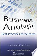 Business Analysis Book PDF