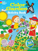 Color and Garden Activity Book with 50 Stickers!