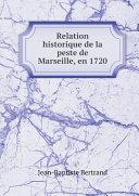 Pdf Relation historique de la peste de Marseille, en 1720 Telecharger