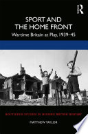 Sport and the Home Front