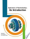 APPLICATIONS OF NANOTECHNOLOGY AN INTRODUCTION Book