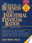 Almanac of Business and Industrial Financial Ratios