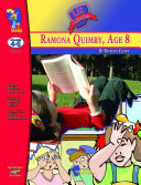 Ramona Quimby, Age 8 Lit Link Gr. 4-6