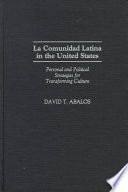 La Comunidad Latina In The United States Book PDF