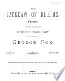 The Jackdaw of Rheims  Cantata  written by     T  Ingoldsby Book PDF