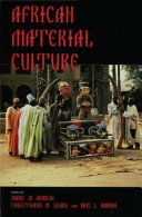 Pdf African Material Culture Telecharger