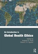 An Introduction to Global Health Ethics Pdf/ePub eBook