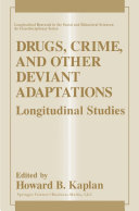 Drugs, Crime, and Other Deviant Adaptations Pdf/ePub eBook