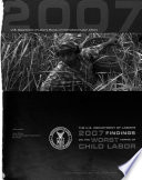 The Department of Labor s     Findings on the Worst Forms of Child Labor