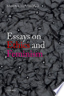 Essays on Ethics and Feminism Book