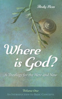 Where is God   A Theology for the Here and Now  Volume One