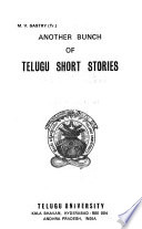 Another Bunch of Telugu Short Stories