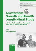 Amsterdam Growth and Health Longitudinal Study (AGAHLS)