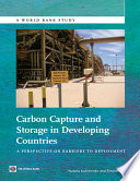 Carbon Capture And Storage In Developing Countries Book PDF