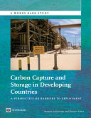 Carbon Capture and Storage in Developing Countries