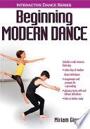 """Beginning Modern Dance With Web Resource"" by Giguere, Miriam"