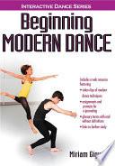 """Beginning Modern Dance With Web Resource"" by Giguere, Miriam"