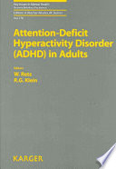 Attention Deficit Hyperactivity Disorder (ADHD) in Adults