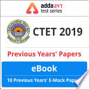 Ctet Previous Year Paper Ebook English Edition