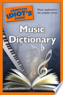 The Complete Idiot s Guide Music Dictionary