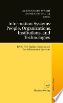 Information Systems People Organizations Institutions And Technologies