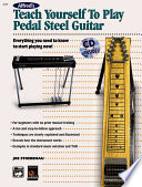 Alfred's Teach Yourself to Play Pedal Steel Guitar