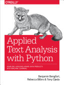 Applied Text Analysis with Python Pdf/ePub eBook