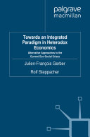 Towards an Integrated Paradigm in Heterodox Economics Pdf/ePub eBook