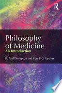 Philosophy of Medicine