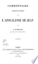 Commentaire sur l'Apocalypse de Jean