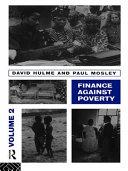 Finance Against Poverty  Volume 2
