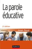 Pdf La parole éducative - 2e éd. Telecharger