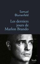 Pdf Les derniers jours de Marlon Brando Telecharger