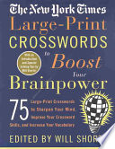 The New York Times Large-Print Crosswords to Boost Your Brainpower