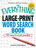 The Everything Large Print Word Search Book