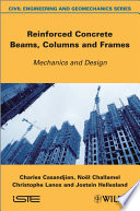 Reinforced Concrete Beams  Columns and Frames