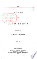 The Works of Byron
