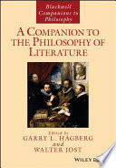 A Companion to the Philosophy of Literature Book