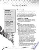 Writing Lesson Level 5--Reviser's Checklist