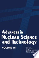 Advances in Nuclear Science and Technology Book