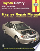 Toyota Camry, 2002 Thru 2006