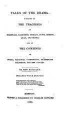 Pdf Tales of the Drama, Founded on the Tragedies of Shakspeare, Massinger, Shirley Etc., and on the Comedies of Steele, Farquhar, Cumberland, Etc