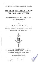 The Most Beautiful Among the Children of Men Book