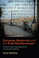 European Modernity and the Arab Mediterranean