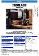 Iron Age The Management Magazine For Metal Producers