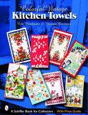 Colorful Vintage Kitchen Towels