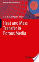 Heat and Mass Transfer in Porous Media
