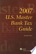 U s  Master Bank Tax Guide  2007